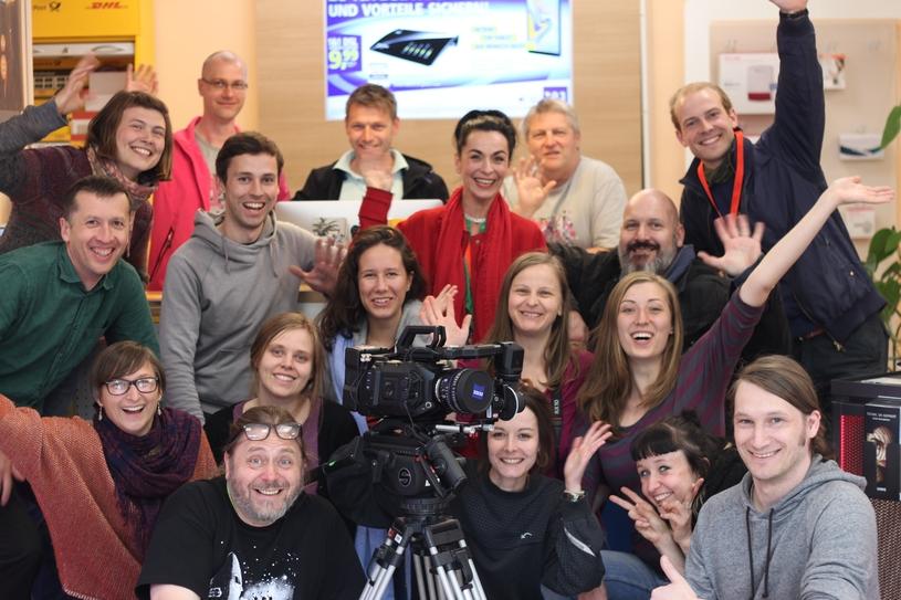 Sukuma Award Dreh Chemnitz 2019_Teamfoto